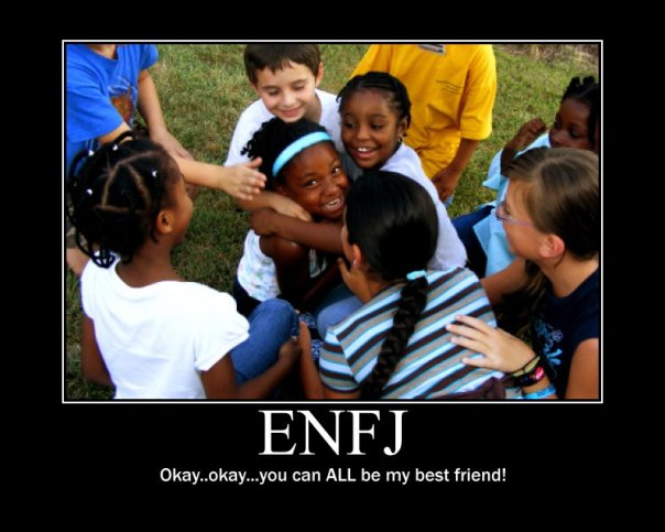 enfj female dating The nf idyllic (enfp, infp, enfj,  [mbtitm] why the infp male is the ideal match from an entj female perspective you are currently viewing our forum as a guest,.